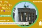 J6 de #SemaineLFM : suivez le Forum national des anciens élèves (FONA) à Berlin