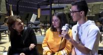 Interview d'Adriana Tanus, chef de l'Orchestre des lycées français du monde, par les JRI-AEFE de Porto et de Phnom Penh