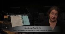 Saison V de l'OLFM : interview d'Adriana Tanus par les JRI de Madrid
