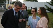 Le lycée international Alexandre-Dumas d'Alger reçoit la visite du ministre de l'Éducation nationale