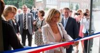 La nouvelle école maternelle du lycée français de Bruxelles inaugurée par Mme Conway-Mouret