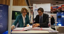 L'AEFE et l'ONISEP reconduisent leur partenariat lors du Salon européen de l'éducation