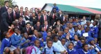 4e édition du tournoi de rugby des deux hémisphères en Afrique du Sud