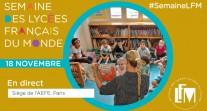 J1 de #SemaineLFM : revoir l'émission sur les atouts de l'école maternelle diffusée en direct depuis l'AEFE à Paris