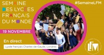 """J2 de #SemaineLFM : revoir la table ronde """"En route vers l'enseignement supérieur"""" organisée au lycée français Charles-de-Gaulle à Londres"""