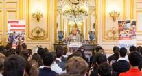Réception en l'honneur des boursiers Excellence-Major au palais du Luxembourg