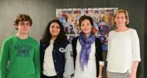 Deux élèves du Lycée franco-péruvien de Lima à la COP 21 des lycéens franciliens