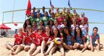 Premier tournoi international féminin de beach-volley au Maroc