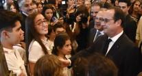 Visite du président de la République dans les lycées français de Buenos Aires et Montevideo