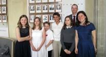 Prix des droits de l'homme - René Cassin : les collégiens de Francfort, distingués au palmarès national, reçus à Paris