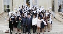 Cérémonie de sortie des boursiers Excellence-Major 2011-2016  au Quai d'Orsay