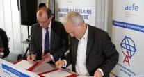 Nouvelle convention de partenariat entre l'AEFE et TV5MONDE