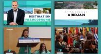 Destination Francophonie : l'émission de TV5Monde fait un focus sur les ambassadeurs en herbe à Abidjan