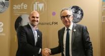 J6 de #SemaineLFM au Salon européen de l'éducation : signature de convention entre l'AEFE et Pathé Live