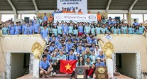 12e Tournoi de rugby à 7 de la zone Asie-Pacifique : photo de groupe