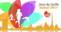 Jeux du Golfe 2017 à Dubaï : sportifs et jeunes reporters en action