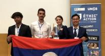 Prix Éthic'Action : l'AS du lycée français de Vientiane distinguée pour son engagement auprès des enfants au Laos