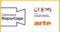 """Concours ARTE CLEMI reportage : deux productions d'élèves du réseau désignées """"coup de cœur"""" du jury"""