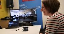 Concours #OuvertSurLeMonde : visio entre les élèves lauréats et Joanna Lemanska