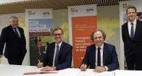 Signature d'un accord-cadre entre l'AEFE et le groupe éducatif Odyssey