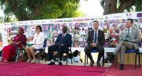40 ans du lycée français Montaigne au Tchad : tribune officielle