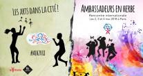 Revivez le direct de la rencontre internationale Ambassadeurs en herbe des 3 et 4 mai au théâtre Paris-Villette