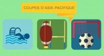 Football, natation, rugby : de grandes compétitions fédératrices dans la zone Asie-Pacifique