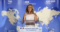 Inauguration des nouveaux locaux de l'Agence par la ministre déléguée chargée des Français de l'étranger