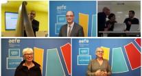 Premiers séminaires des enseignants-formateurs de SVT, physique-chimie et mathématiques au siège de l'AEFE, en lien avec la réforme du lycée et du baccalauréat
