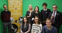 J5 de #SemaineLFM : les participants de l'émission et la délégation de JRI-AEFE du Lycée français de Madrid