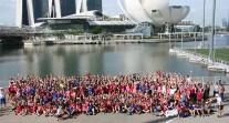 Chaleur et bonheur au rendez-vous des Jeux internationaux de la jeunesse 2016 à Singapour