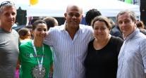 """Le président de la République d'Haïti au lycée Alexandre-Dumas le jour du """"Ladnaval"""""""