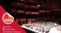Revivez le concert de l'Orchestre des lycées français du monde enregistré en direct de l'Auditorium de Radio France le 19 mars 2019