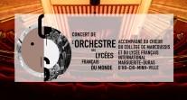 Le concert de l'Orchestre des lycées français du monde enregistré en direct depuis Paris le 18 mars 2017