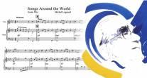 Trouvez des paroles à une mélodie de Michel Legrand pour chanter votre ville