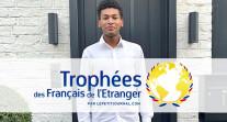 """Rencontre avec Matthieu Pallud, lauréat du trophée """"Ancien·ne élève des lycées français du monde"""" 2021"""