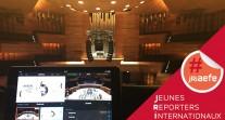 Des JRI AEFE venus de Phnom Penh et de Porto pour couvrir les répétitions et le concert de l'Orchestre des lycées français du monde