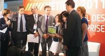"""Les collégiens de Bucarest et de Zurich primés au concours """"Avenir métiers"""""""