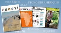 Zoom sur les journaux inter-établissements du réseau : des initiatives à l'échelle de vastes régions du monde
