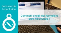 Choisir des formations dans Parcoursup : tutoriel pour les élèves des lycées français du monde