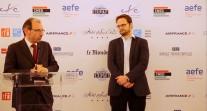 """Trophées des Français de l'étranger 2017: le dessinateur de presse Nicolas Vadot lauréat du trophée """"ancien-ne élève"""""""