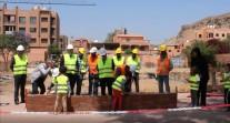 Vidéo de la pose de première pierre de la cité scolaire Victor-Hugo de Marrakech