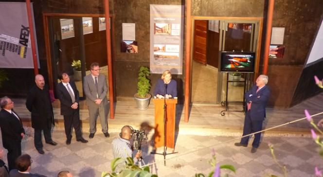 Inauguration de l'exposition du Grand Prix AFEX 2012 à l'institut français de Dakar