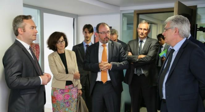 Visite de Jean-Baptiste Lemoyne à l'AEFE : échanges avec les personnels
