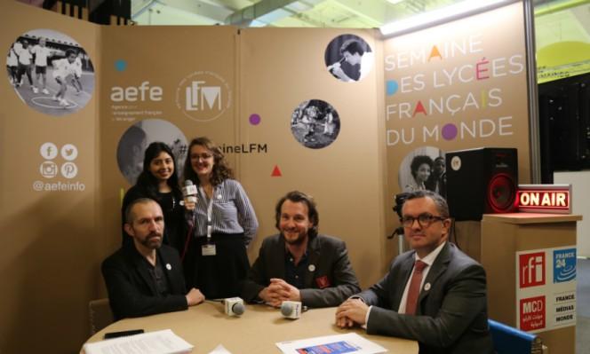 J6 de #SemaineLFM au Salon européen de l'éducation : table ronde autour du parcours éducatif artistique et culturel