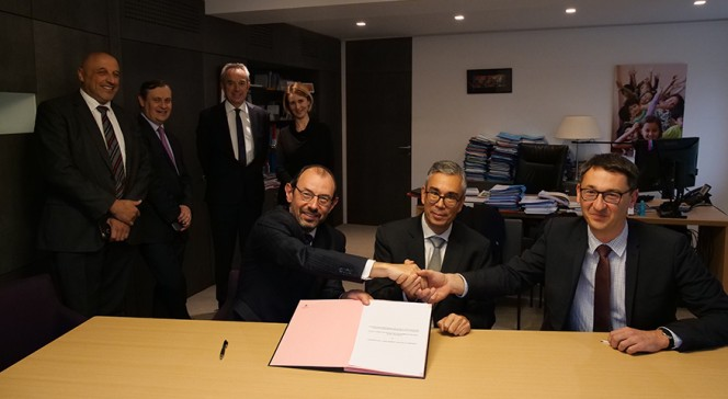 Signature de convention AEFE-DSFIPE en novembre 2018