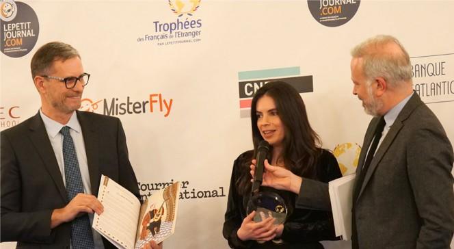 """TFE 2019 : Caroline Torbey lauréate du trophée """"Ancien-ne élève des lycées français du monde"""""""