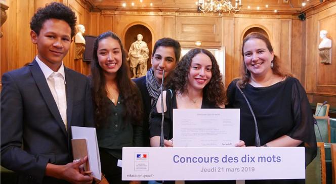 Concours des dix mots 2019 : les élèves primés du Maroc