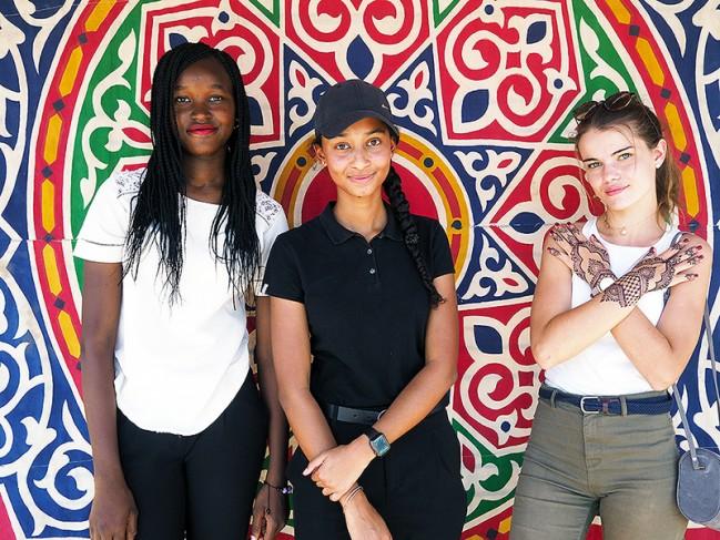 40 ans du lycée français Montaigne au Tchad : animation photo