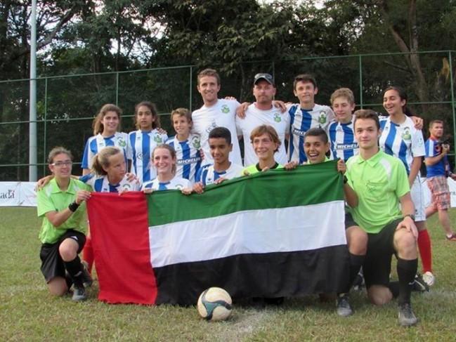 CMEFE 2014 : l'équipe championne (Émirats Arabes Unis)